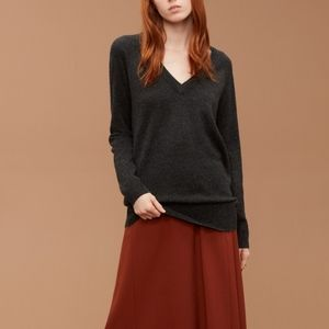 Wilfred Cyrano Wool and Cashmere Blend Sweater